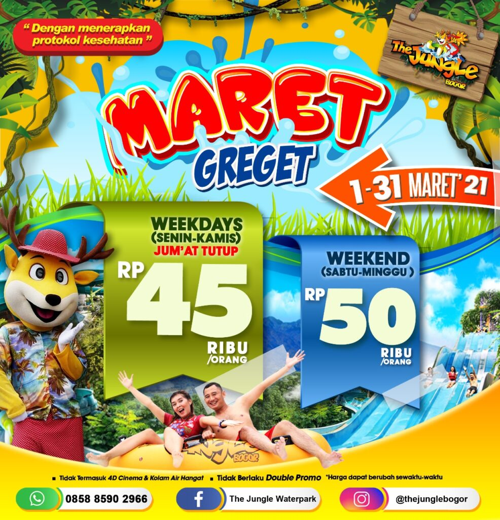Harga Tiket Masuk The Jungle